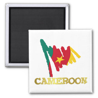 Cameroon Goodies 2 Square Magnet