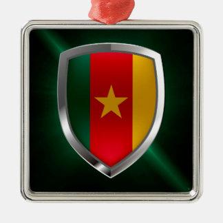 Cameroon Mettalic Emblem Metal Ornament
