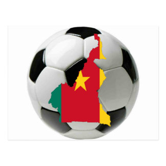 Cameroon national team postcard