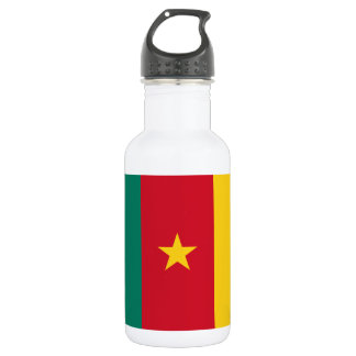 Cameroon National World Flag 532 Ml Water Bottle