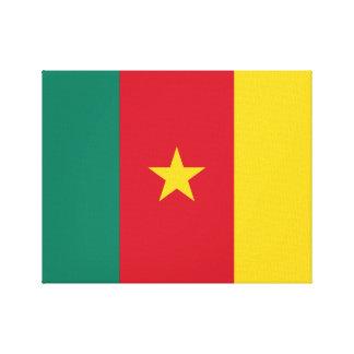 Cameroon National World Flag Canvas Print