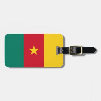 Cameroon National World Flag Luggage Tag