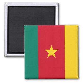 Cameroon National World Flag Magnet