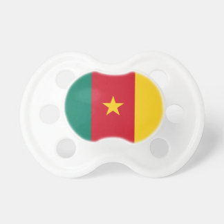 Cameroon National World Flag Pacifier