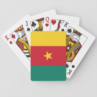Cameroon National World Flag Poker Deck