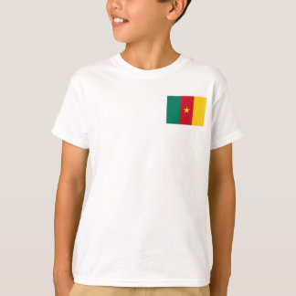 Cameroon National World Flag T-Shirt