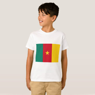Cameroon National World Flag T-Shirt