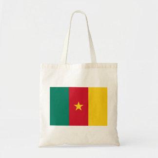 Cameroon National World Flag Tote Bag