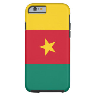Cameroon National World Flag Tough iPhone 6 Case