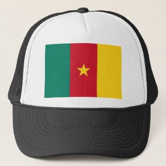 Cameroon National World Flag Trucker Hat