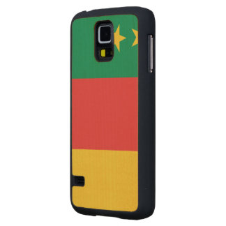 Cameroon Old Flag Maple Galaxy S5 Slim Case