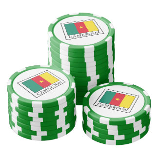 Cameroon Poker Chips
