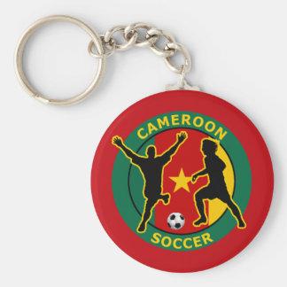 CAMEROON SOCCER KEYCHAIN