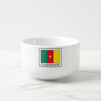 Cameroon Soup Bowl With Handle