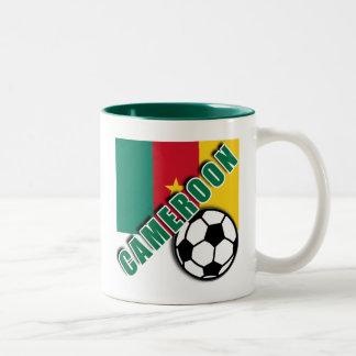 CAMEROON World Soccer Fan Tshirts Two-Tone Coffee Mug