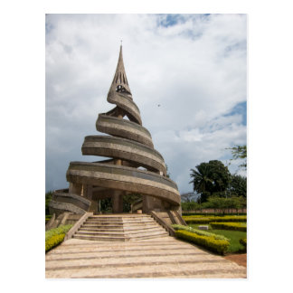 Cameroon - Yaounde - The Reunification Monument Postcard