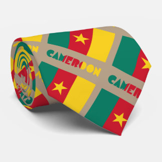 Cameroonian Flag and Cameroon Tie