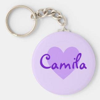 Camila in Purple Keychain