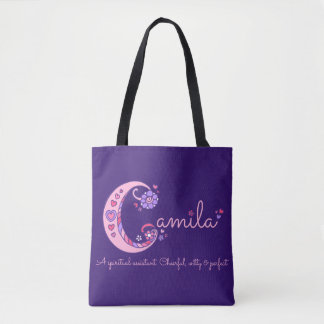 Camila name and meaning monogram bag