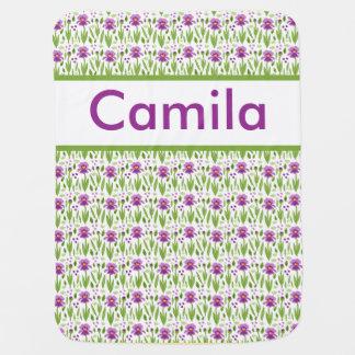 Camila's Personalized Iris Blanket
