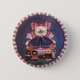 Camilla Kitty Button Pin