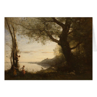 Camille Corot Painting Card