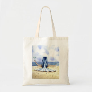 Camille Grimshaw Beach Margarita Mermaid Tote Bag