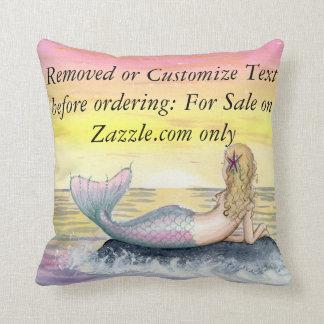 Camille Grimshaw Little Mermaid Pillow
