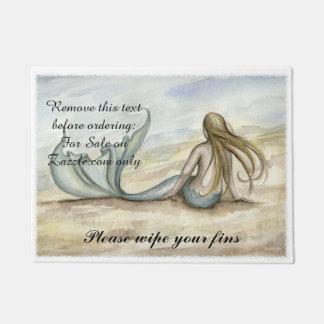 Camille Grimshaw Seaside Mermaid Doormat