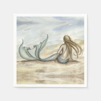 Camille Grimshaw Seaside Mermaid Napkins
