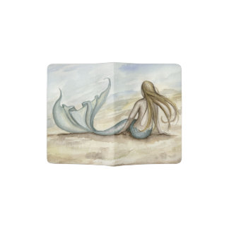 Camille Grimshaw Seaside Mermaid Passport Holder