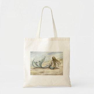 Camille Grimshaw Seaside Mermaid Tote Bag