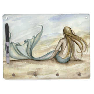 Camille Grimshaw Seaside Mermaid White Board