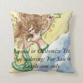 Camille Grimshaw Washed Up Mermaid Pillow
