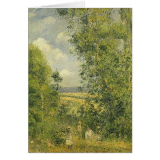 Camille Pissarro | A Rest in the Meadow Card