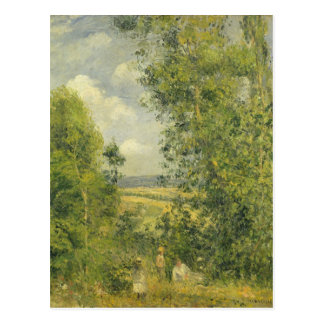 Camille Pissarro | A Rest in the Meadow Postcard