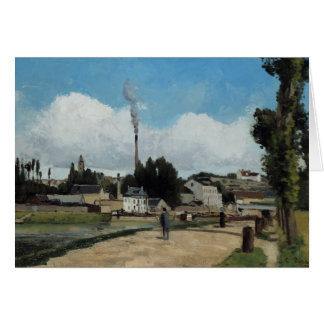Camille Pissarro - Banks of the Oise at Pontoise Card