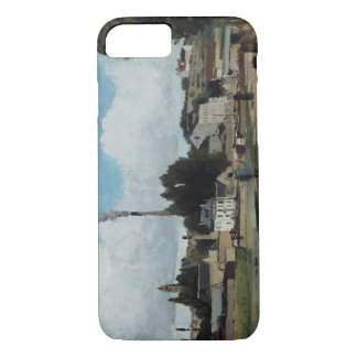 Camille Pissarro - Banks of the Oise at Pontoise iPhone 7 Case
