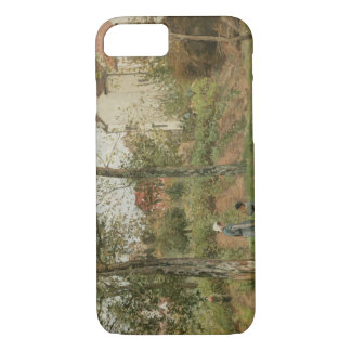 Camille Pissarro - Houses at Bougival (Autumn) iPhone 7 Case