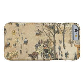 Camille Pissarro - La Place due Theatre Francais Barely There iPhone 6 Case