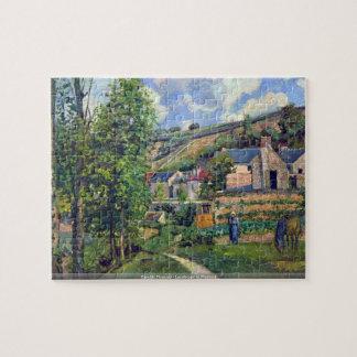 Camille Pissarro - Landscape in Pontiose puzzle
