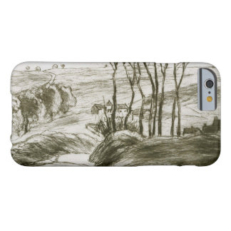 Camille Pissarro - Landscape Near Osny (State II) Barely There iPhone 6 Case