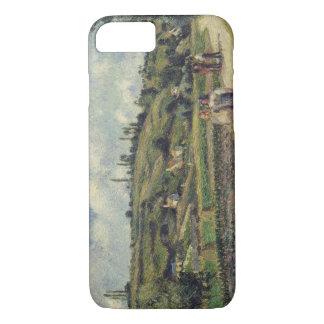 Camille Pissarro - Landscape near Pontoise iPhone 7 Case