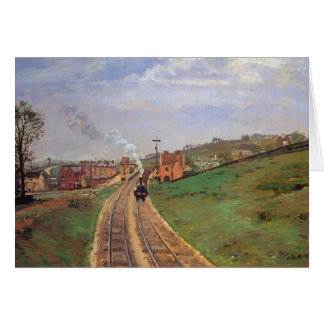 Camille Pissarro- Lordship Lane Station, Dulwich Card