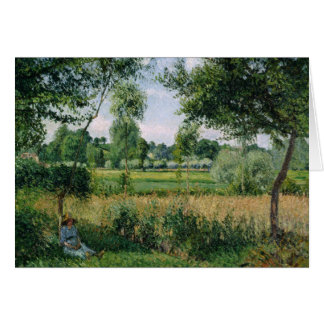 Camille Pissarro - Morning Sunlight Effect, Eragny Card