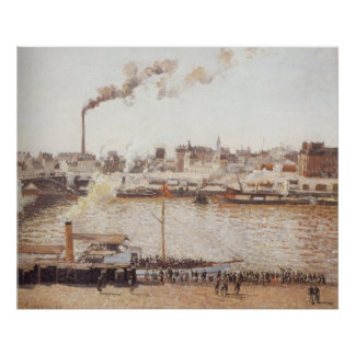Camille Pissarro - Morning Winter Sun Frost  1901 Posters
