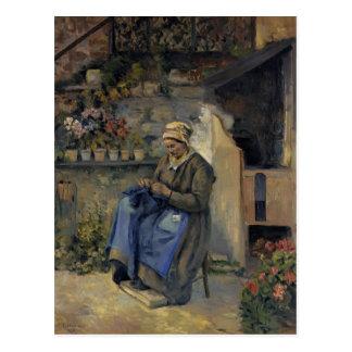 Camille Pissarro- Mother Jolly Postcard
