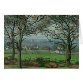 Camille Pissarro - Near Sydenham Hill Card