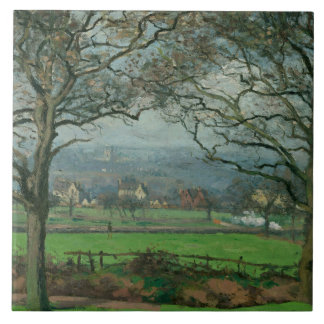 Camille Pissarro - Near Sydenham Hill Tile