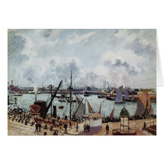 Camille Pissarro- Outer harbour of Le Havre Card